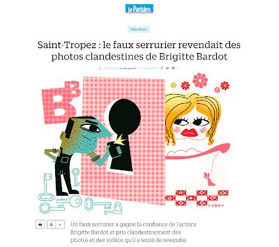 Clod illustration fait-divers du Parisien du 17 mars 2017