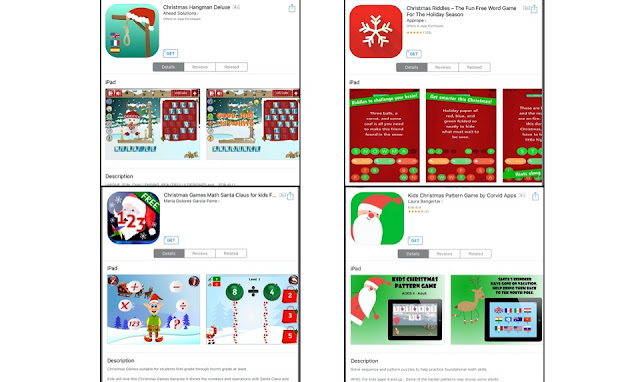 This holiday season, try some of these fun activities that are online and iPad apps. Your students can improve math, word, and problem-solving skills.