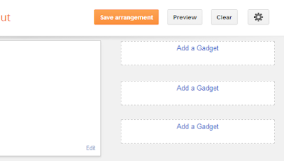 jQuery tabbed widget for blgoger