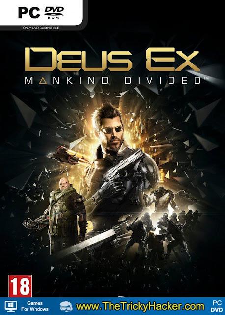 Deus EX Mankind Divided Free Download Full Version Game PC