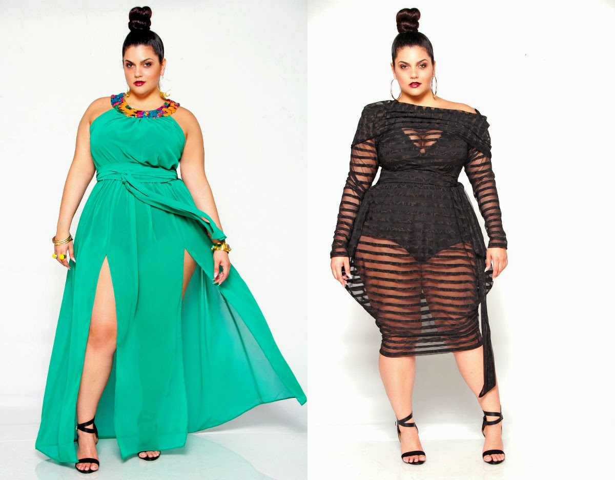 Sexy plus size cover ups