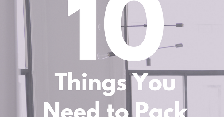 10 Things You Need To Pack For Your First Year Of College When Life Gives Y