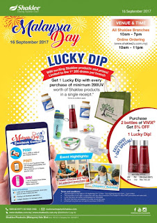 Promosi hari malaysia; shaklee promosi; promo shaklee; lucky dip shaklee
