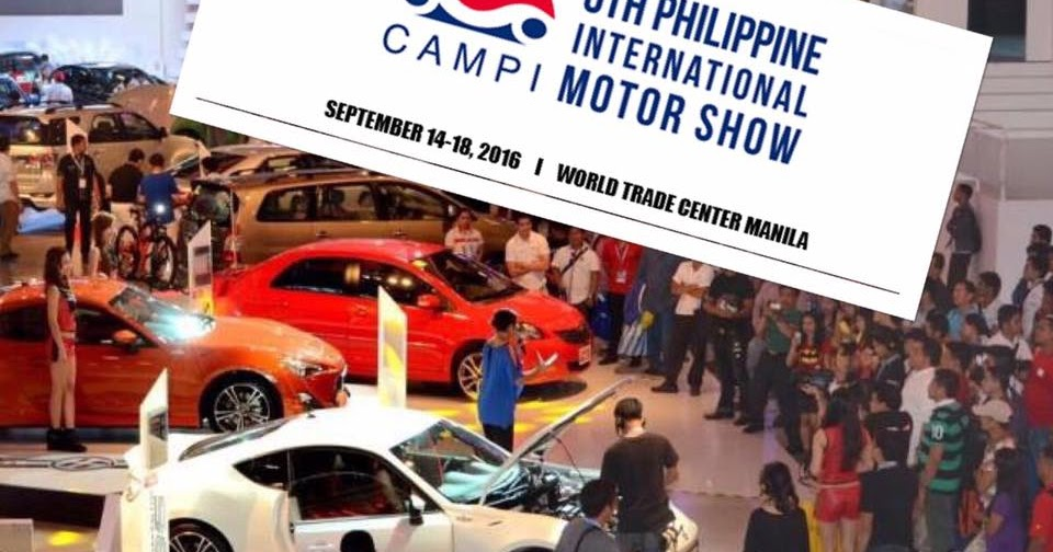Manila Shopper: 6th Philippine International Motor Show at ...