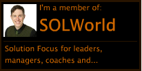SOLWorld Ratkaisukeskeisten valmentajien ja fasilitaattoreiden kohtaamispaikka