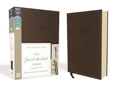 NIV Journal the Word Bible - Journal Bible Recommendations for Men - Christian Gift Ideas