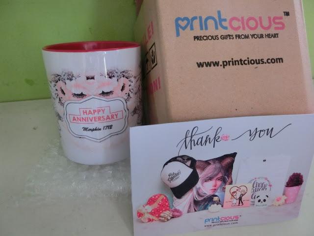 Anniversary mug dari Printcious