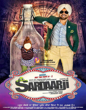 Sardaar Ji 2015 Punjabi 130MB DVDRip HEVC Mobile Watch Online Full HD Quality PC Movie Free Download Worldfree4u