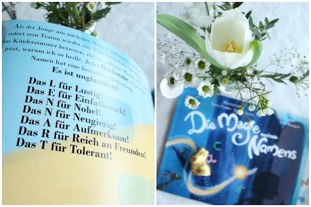 Namensbuch Taufe Junge Deko DIY Idee Geschenkidee Blumen Tischdeko Jules kleines Freudenhaus