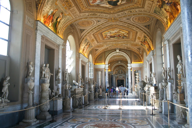 Inside the Vatican City Museums