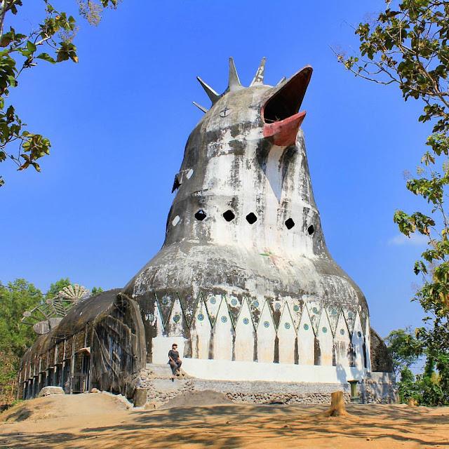 foto gereja ayam magelang