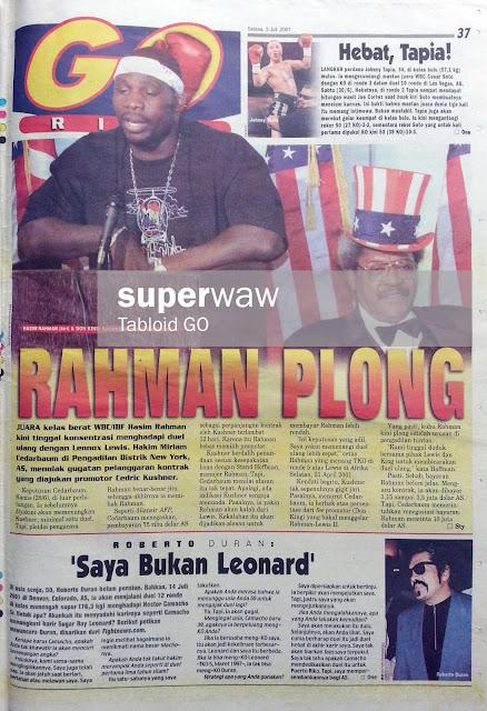 GO RING: RAHMAN PLONG