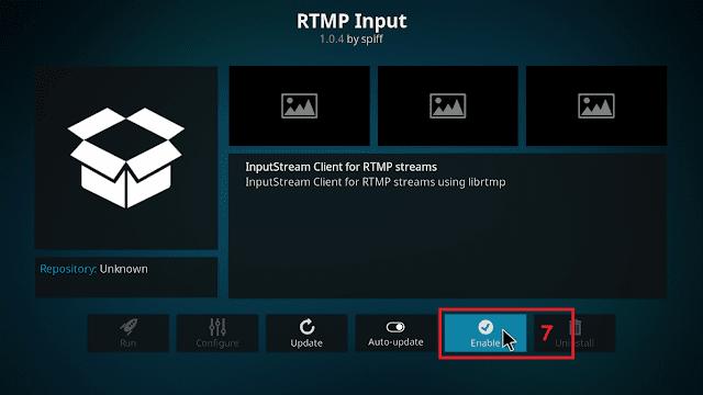 Cara menjalankan IPTV di KODI tahap 6