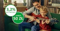 Konto oszczędnościowe w Getin Banku: 3,2% nawet do 400 000 zł (+bonus 50 zł na start)