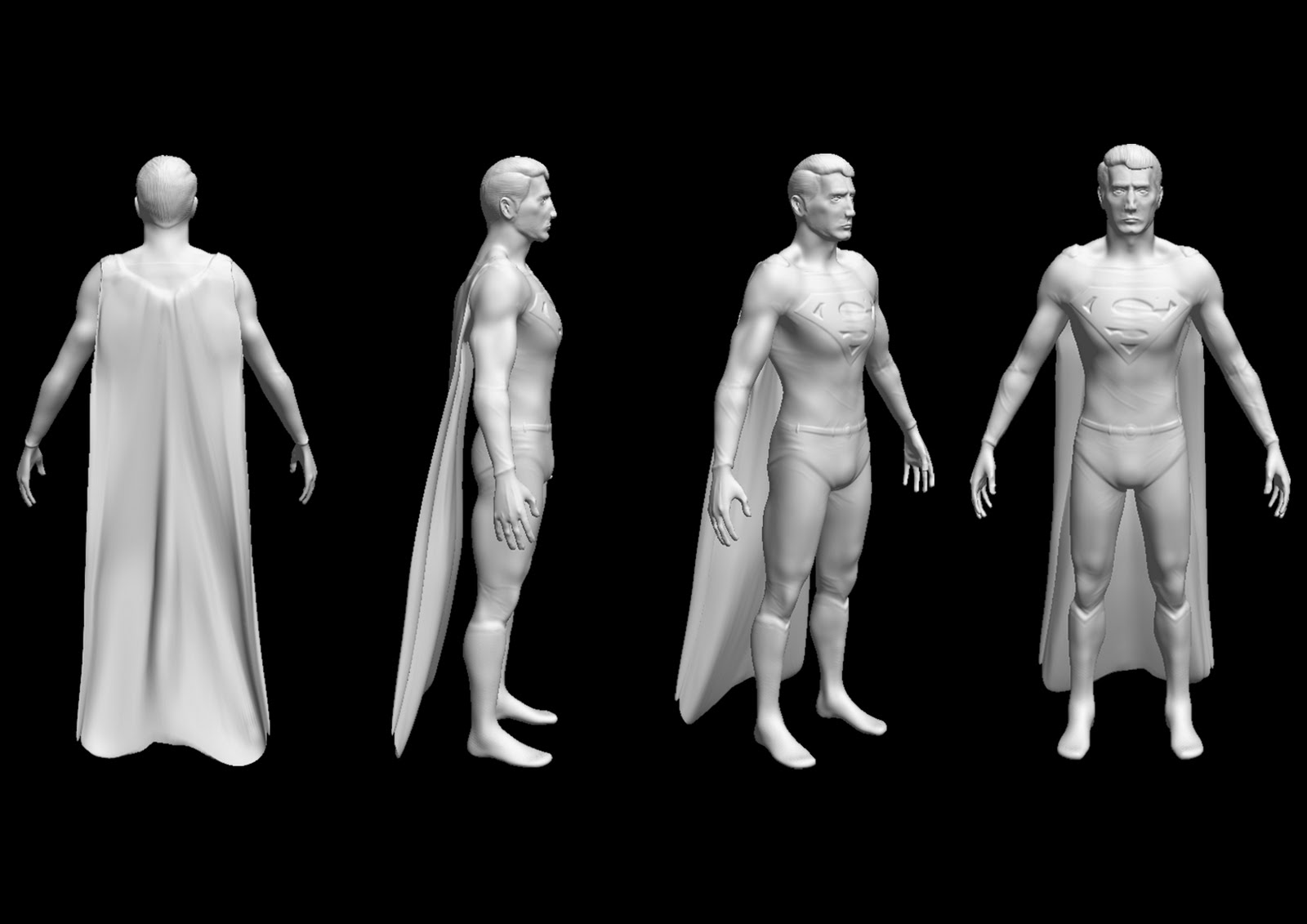 Jake Jones' Digital Animation: MudBox Sculpting