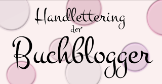 Logo: Handlettering der Buchblogger