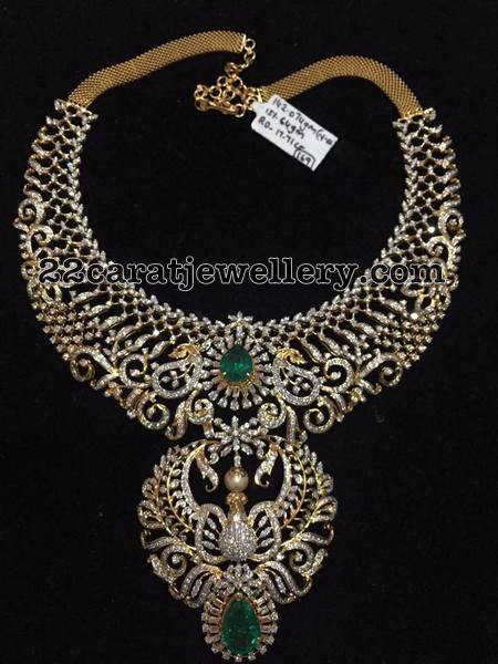 142 Grams Diamond Necklace