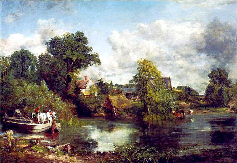 The White Horse by John Constable, 1819