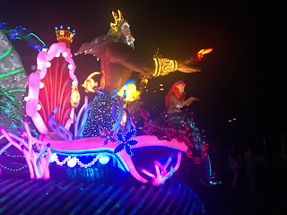 King Triton Paint the Night The Little Mermaid float