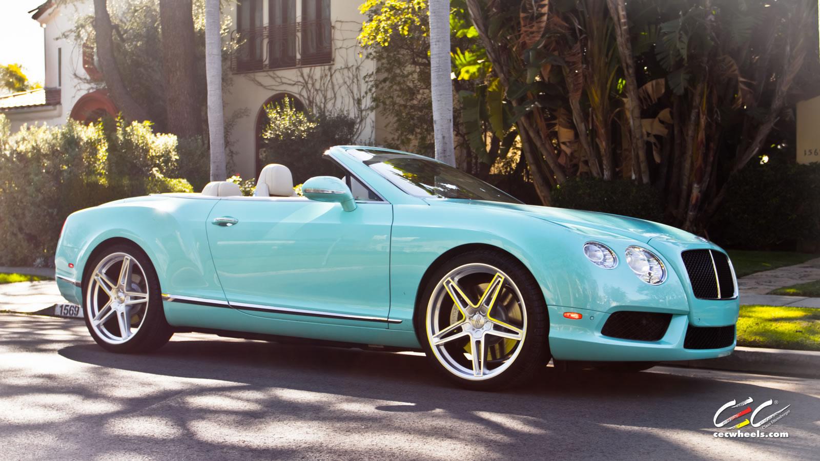 Tiffany blue bentley