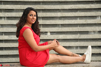 Shravya Reddy in Short Tight Red Dress Spicy Pics ~  Exclusive Pics 079.JPG