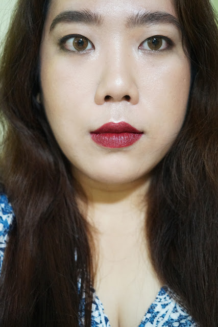 Bordeaux, Burgundy Lips FOTD