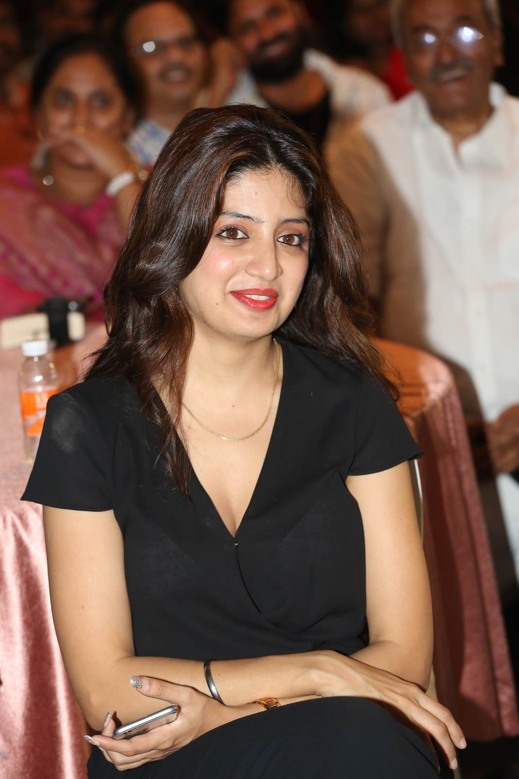 Tollywood Actress Poonam Kaur, Poonam Kaur hot Pics in black Dress from 365 Days Movie Audio Launch