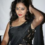 Actress Bhanu in Black Saree