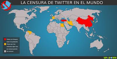 Países cortaron internet en el 2016