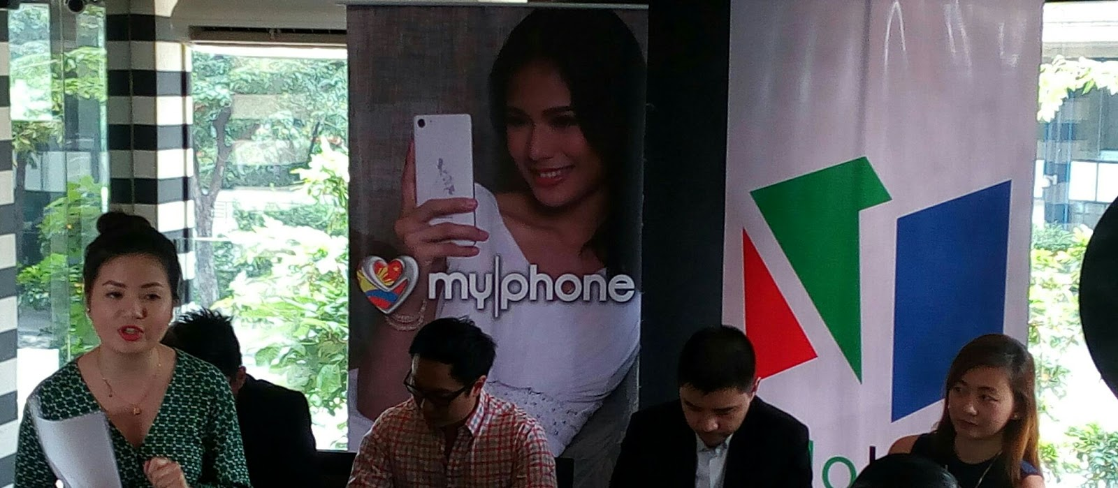 myphone marks partnetship with no ink app of abs cbn publishing