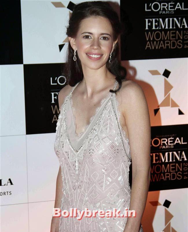 Kalki Koechlin, L`Oreal Paris Femina Women Awards 2014