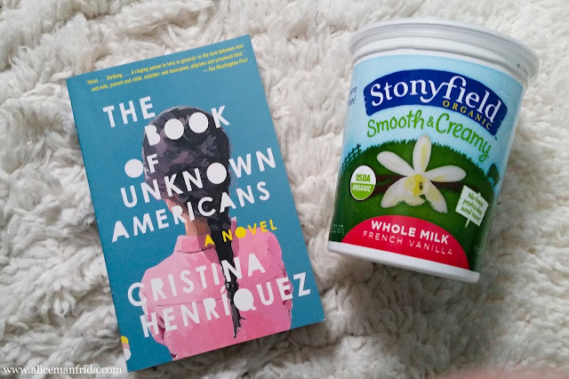 The Book of Unknown Americans, Cristina Henriquez, Stonyfield, yogurt, book, dairy