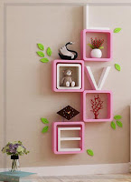 repisas de madera para decorar tu hogar
