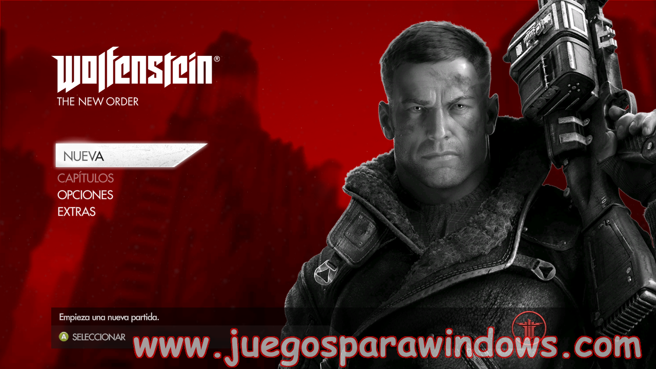 Wolfenstein The New Order Full PC ESPAÑOL UPDATE 1(RELOADED) 2