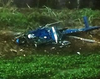 Resultado de imagem para Helicóptero cai e quatro PMs morrem