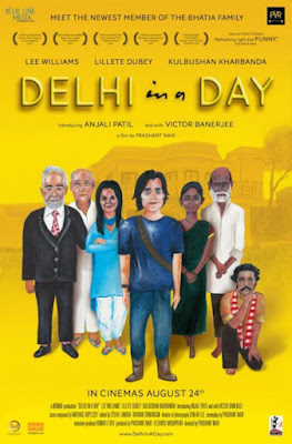 Delhi in a Day (2011) Hindi 720p WebRip ESub – 750MB