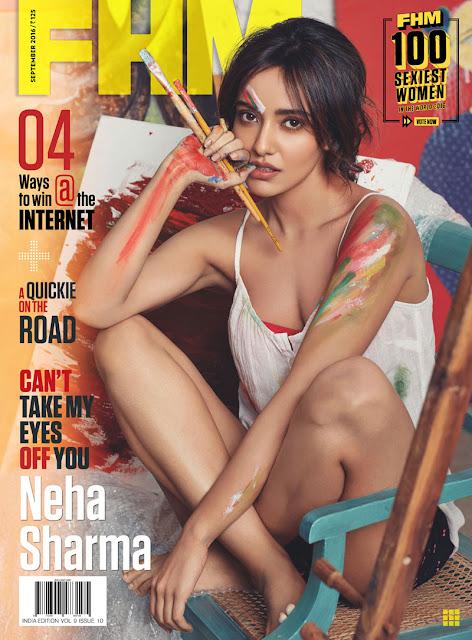 Neha Sharma's FHM Magazine Photos