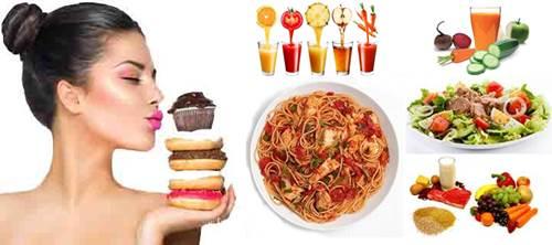 No es necesario dejar de comer todo tipo de alimentos para bajar de peso