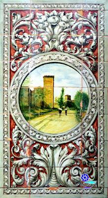 Plaza de España - Sevilla - Azulejo de Huesca - Muralla medieval