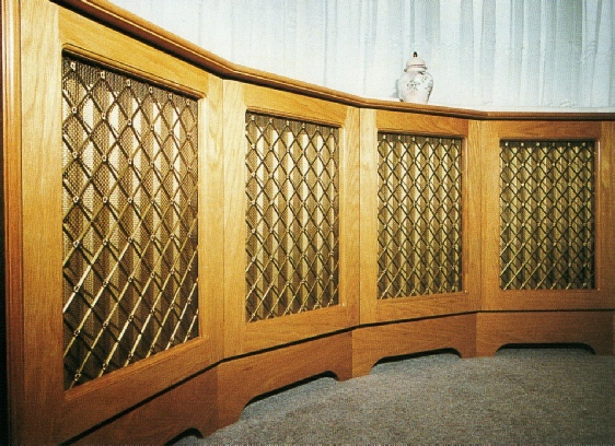 Decorative Metal Grille Panels