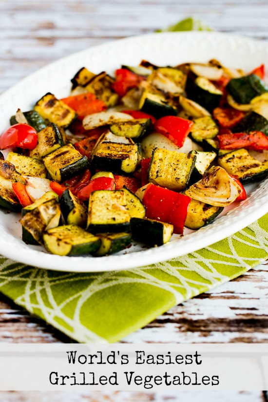 50 Amazing Zucchini Recipes (for Sneak Some Zucchini on to Your Neighbor's Porch Day) found on KalynsKitchen.com