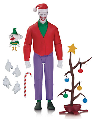 Batman The Animated Series Christmas With The Joker Action Figure by DC Collectibles