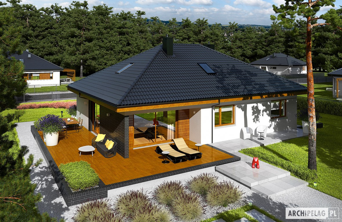 15 Admirable Single Story House Design With Plans