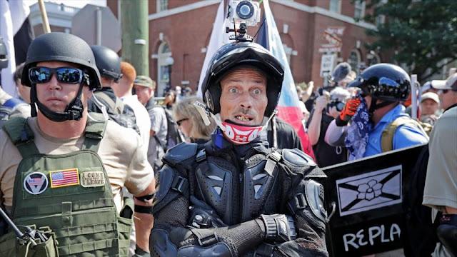 """Estallan choques entre """"milicias armadas"""" y antifascistas en EEUU"""