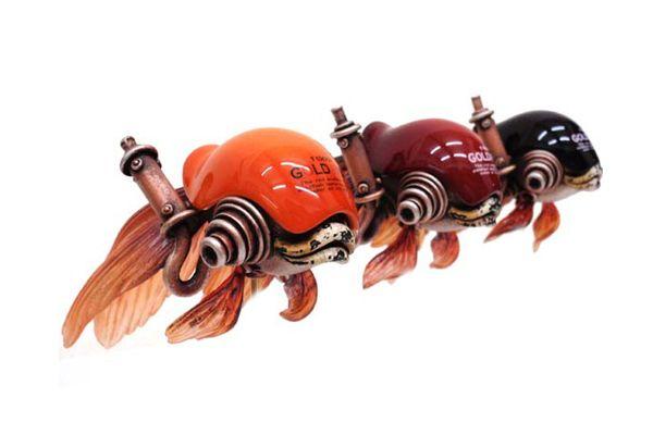 Arte y reciclaje estilo steampunk