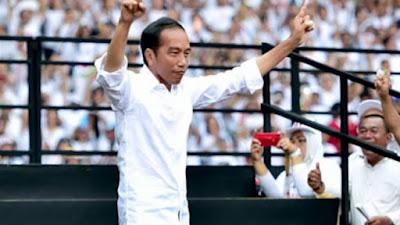 Hasil Akhir Rekapitulasi Suara Pilpres Tingkat Nasional: Jokowi Menang 55,41 Persen