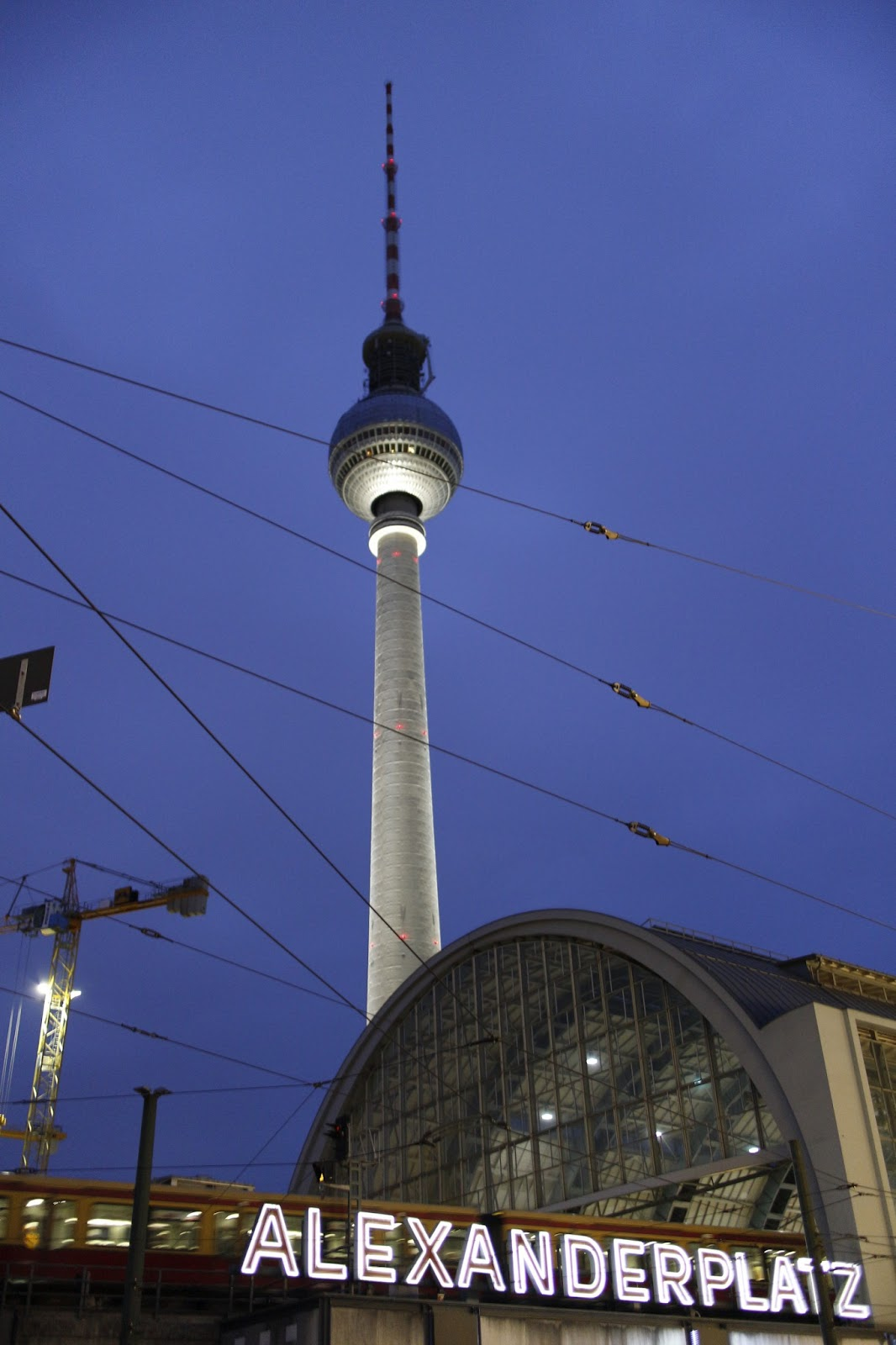 Endless Blue: Alexander Platz: Day+Night