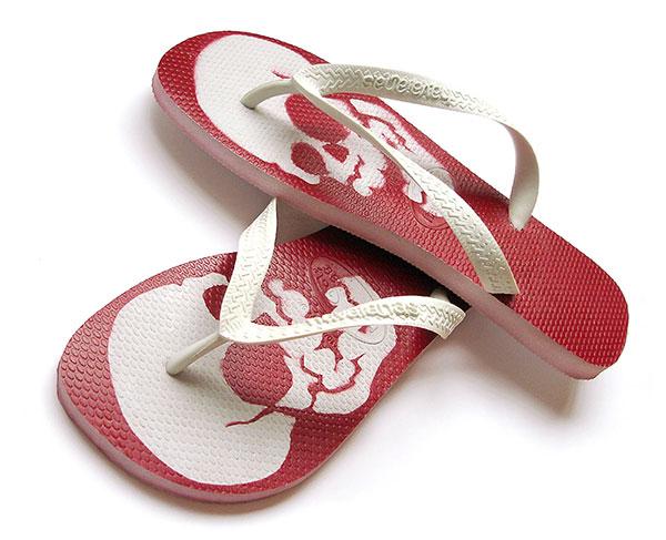 Chanclas, sandalias, chinelas, accesorio de playa