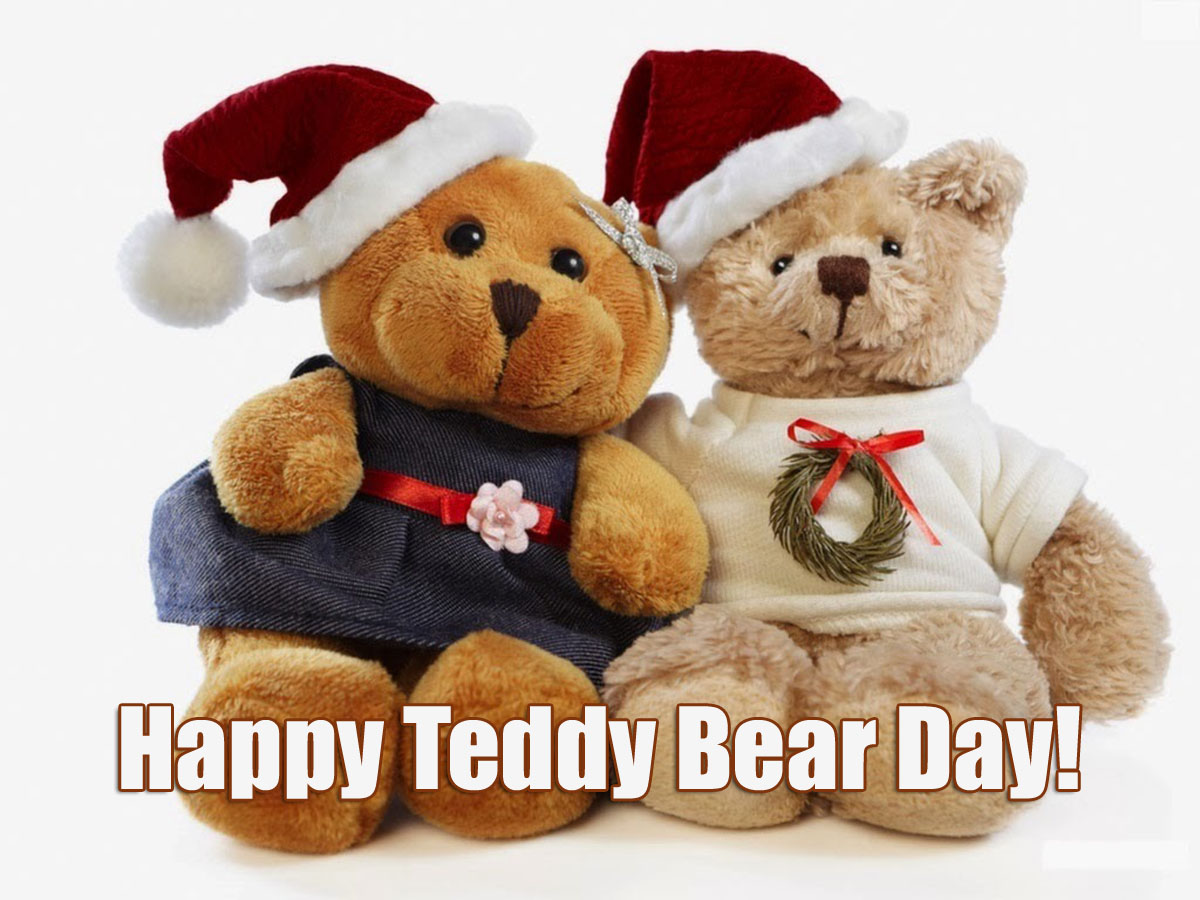 *{[Happy Teddy Bear Day 2016 HD Images Wallpapers Free