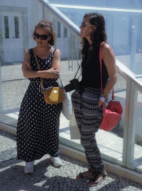 Walking tour Cascais miúda e Andreia Moita